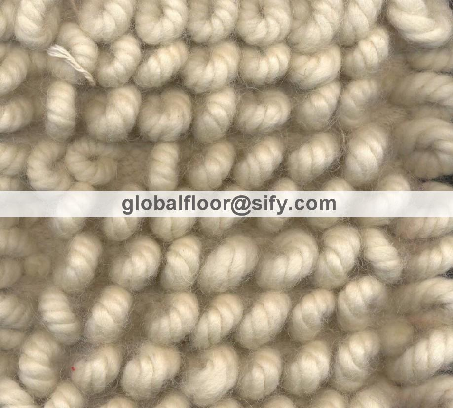 Wool Loop Rug Home Decor