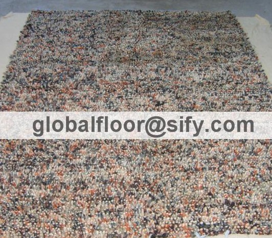 Gff-10033 wool shaggy rugs